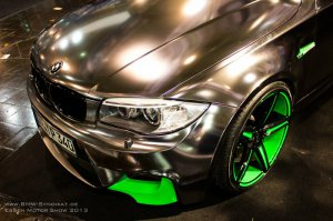BMW-News-Blog: Essen Motor Show 2013: Oxigin zeigt BMW 1er M Coup - BMW-Syndikat