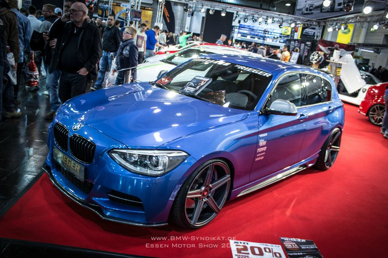 essen motor show 2013 bmw m135i tuning f20 von rieger. Black Bedroom Furniture Sets. Home Design Ideas
