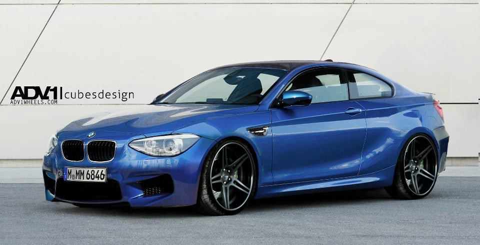 Bmw M2 2014 F22 Rendering Zeigt 2er Coup 233 Aus Bmws Ps