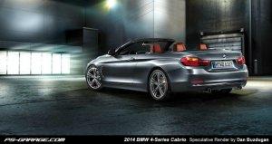 BMW-News-Blog: Rendering__Das_neue_BMW_4er_Cabrio__F33_