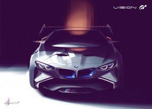 BMW-News-Blog: BMW_Vision_Gran_Turismo__Virtueller_Rennwagen_koennte_Ausblick_auf_neuen_BMW-Supersportler_geben
