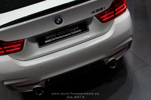 BMW-News-Blog: IAA 2013: BMW 435i Coupé (F32) mit BMW M Performan - BMW-Syndikat