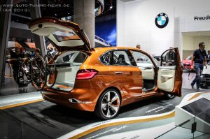 "BMW-News-Blog: IAA 2013: BMW Concept Active Tourer Outdoor in ""Go - BMW-Syndikat"