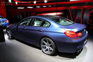 BMW-News-Blog: IAA 2013: BMW M6 Gran Coupé (F06) mit Competition - BMW-Syndikat