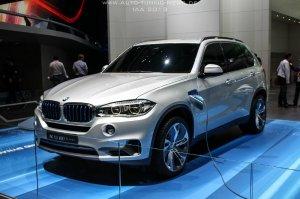 BMW-News-Blog: BMW Concept X5 eDrive: SUV mit Hybridantrieb auf d - BMW-Syndikat