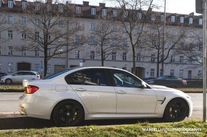 BMW-News-Blog: BMW M3 (F80) in Mineralwei�: Sportler in freier Wi - BMW-Syndikat