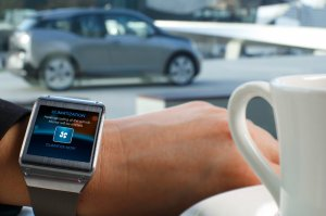 BMW-News-Blog: BMW i Remote App für Samsung Galaxy Gear: Elektroa - BMW-Syndikat
