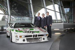 BMW-News-Blog: Restaurierter Klassiker: BMW M1 Procar in der BMW - BMW-Syndikat