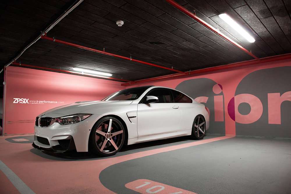 z performance bmw m4 f82 hochwertiges felgen programm f r das starke mittelklasse coup. Black Bedroom Furniture Sets. Home Design Ideas