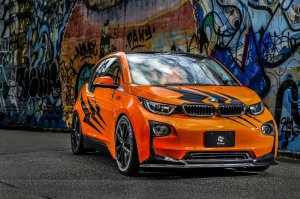 BMW-News-Blog: ​3DDesign: BMW i3 mit Spoiler-Werk und Tiger - BMW-Syndikat