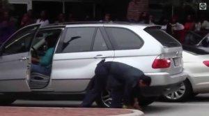 BMW-News-Blog: Video: BMW X5 vs. Parkkralle - BMW-Syndikat