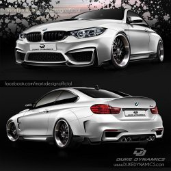 BMW-News-Blog: Duke Dynamics: Widebody-Tuning f�r das BMW M4 Coup - BMW-Syndikat