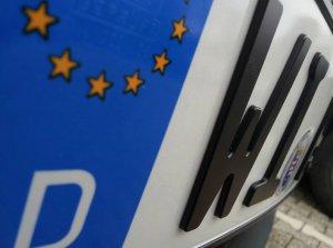 BMW-News-Blog: TESTEN und KOSTENLOS behalten: 3D-Kennzeichen für - BMW-Syndikat