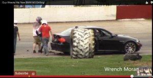 BMW-News-Blog: BMW M3 Limousine (E90): Crash auf dem Columbus Mot - BMW-Syndikat