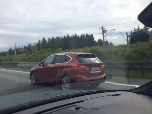 BMW-News-Blog: Werkstestwagen gesichtet: BMW 2er 218d Active Tour - BMW-Syndikat