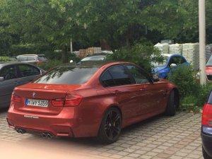 BMW-News-Blog: BMW M3 (F80): Werkstestwagen in Sakhir Orange - BMW-Syndikat