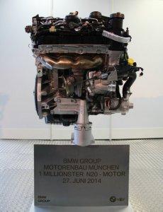 BMW-News-Blog: BMW Werk M�nchen: N20-Turbo-Vierzylinder feiert Ju - BMW-Syndikat