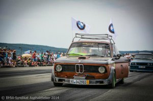 BMW-News-Blog: BMW-Syndikat Asphaltfieber 2014: Weiß-blaue Jubilä - BMW-Syndikat