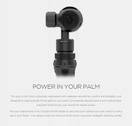 BMW-News-Blog: DJI OSMO Handheld Gimbal: Ausgleichssystem für ver - BMW-Syndikat