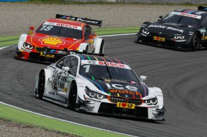 BMW-News-Blog: DTM_in_Hockenheim_I__Vier_BMW_M4_DTM_in_den_Punkteraengen