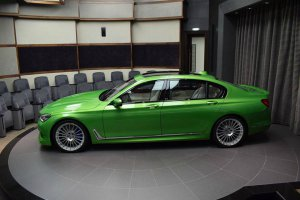 BMW-News-Blog: Abu Dhabi Motors: BMW Alpina B7 Bi-Turbo in Java-G - BMW-Syndikat