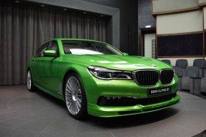 BMW-News-Blog: Abu Dhabi Motors: BMW Alpina B7 Bi-Turbo in Java-G - BMW-Syndikat