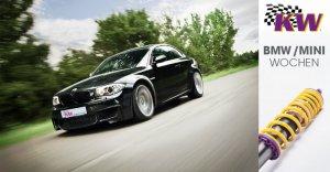 BMW-News-Blog: KW Gewindefahrwerke: Kräftig sparen beim Fahrwerkk - BMW-Syndikat