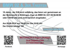 BMW 02 & 3er Treffen - Motorworld Stuttgart -  - 906465_bmw-syndikat_bild