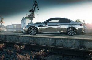 BMW-News-Blog: BMW M3 Coupé E92: Tuning durch Chromfolie - BMW-Syndikat