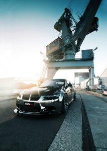 BMW-News-Blog: BMW M3 Coup� E92: Tuning durch Chromfolie - BMW-Syndikat