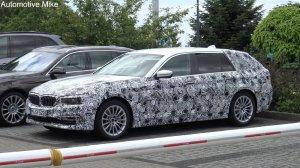 BMW-News-Blog: BMW 5er Touring G31: Erlkönig-Video zeigt Luxus-Ko - BMW-Syndikat