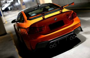 BMW-News-Blog: 3D Design: Feuerorangefarbener BMW M4 mit Aerodyna - BMW-Syndikat