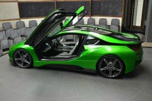 BMW-News-Blog: BMW Abu Dhabi: i8-Tuning im auff�lligen Lava-Gr�n - BMW-Syndikat