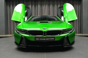 BMW-News-Blog: BMW Abu Dhabi: i8-Tuning im auffälligen Lava-Grün - BMW-Syndikat