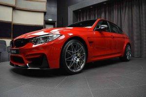 BMW-News-Blog: BMW Abu Dhabi Motors: M3 (F80) in Ferrari-Rot - BMW-Syndikat