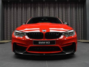 BMW-News-Blog: BMW Abu Dhabi Motors: M3 (F80) in Ferrari-Rot - BMW-Syndikat