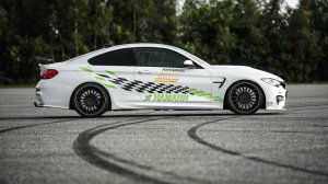 BMW-News-Blog: 3000-Meter-Sprint: Hamann-M4 geht bis 306,4 km/h! - BMW-Syndikat