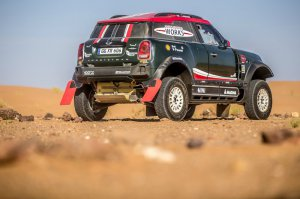 BMW-News-Blog: Rallye Dakar 2018: MINI John Cooper Works Buggy - BMW-Syndikat