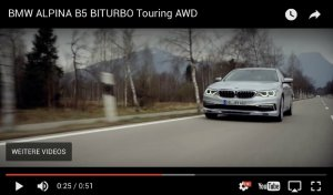 BMW-News-Blog: BMW Alpina B5 Touring (G31): 608-PS-Kombi im Video - BMW-Syndikat