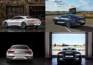 BMW-News-Blog: BMW Concept 8er Coupé vs. Mercedes S-Klasse Coupé - BMW-Syndikat
