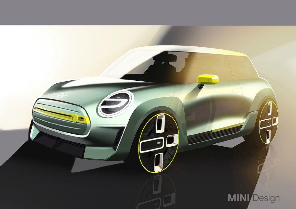 Mini gibt Ausblick auf ersten Serien-Elektroauto
