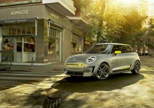BMW-News-Blog: MINI Electric Concept: Studie vollelektrisch - BMW-Syndikat