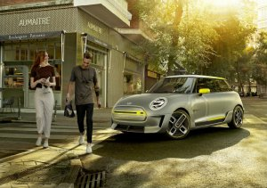 BMW-News-Blog: MINI Electric Concept: Studie vollelektrisch - BMW-Syndikat