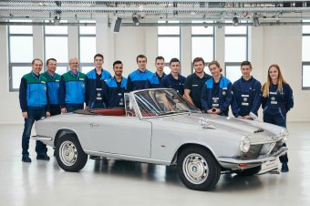 BMW-News-Blog: BMW Group Classic: Restauriertes BMW 1600 GT Cabri - BMW-Syndikat