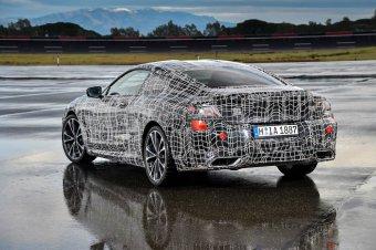 BMW-News-Blog: BMW 8er Coupé (G17): Erprobungsfahrten in Aprilia - BMW-Syndikat