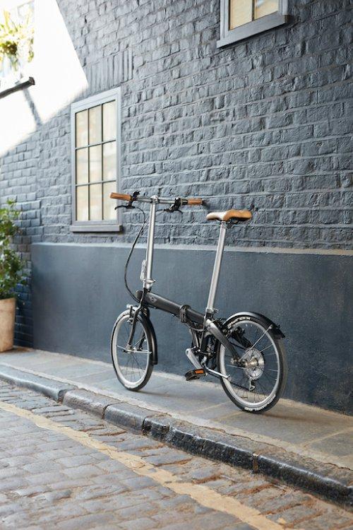 mini folding bike faltrad f r design fans automobil. Black Bedroom Furniture Sets. Home Design Ideas