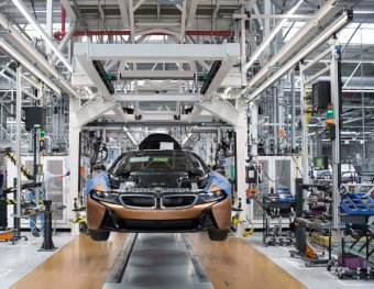 BMW-News-Blog: Serienproduktion des BMW i8 Roadster im BMW Werk L - BMW-Syndikat