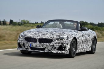 BMW-News-Blog: Der neue BMW Z4 (G29): M40i auf Erprobungsfahrten - BMW-Syndikat
