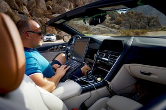 BMW-News-Blog: BMW 8er Cabrio: Prototyp unterwegs im Death Valley - BMW-Syndikat