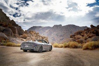 BMW-News-Blog: BMW 8er Cabrio: Prototyp unterwegs im Death Valley - BMW-Syndikat